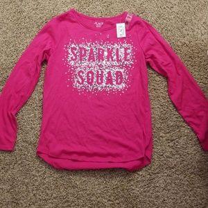 Sparkle Squad long sleeved shirt